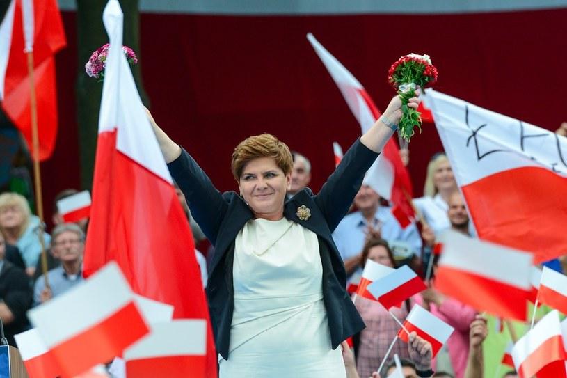 Beata Szydło w Bełchatowie /Adam Staśkiewicz /East News