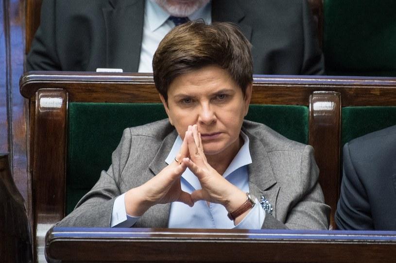 Beata Szydło w Sejmie /Jacek Domiński/ Reporter /Reporter
