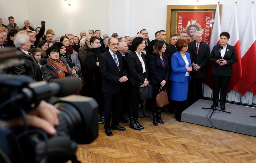 Beata Szydło w Żurawicy /Darek Delmanowicz /PAP