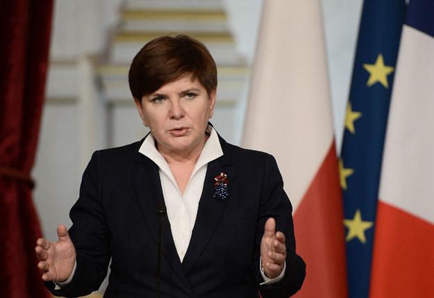 """Beata Szydło: """"Z Polską liczą się wszyscy w Europie i na świecie"""" /AFP"""