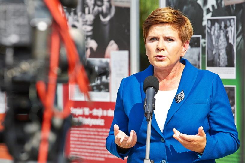 Beata Szydło /Jan Dzban /PAP