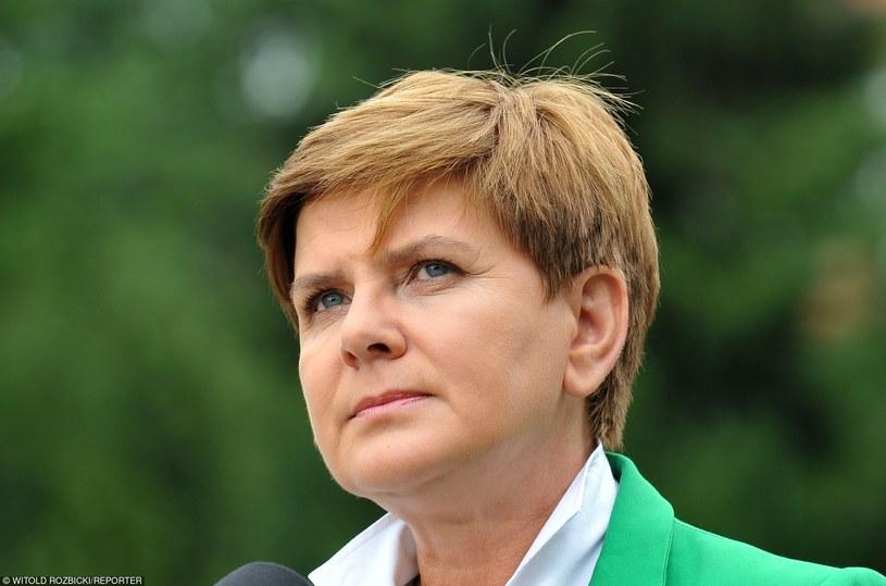 Beata Szydło /Witold Rozbicki /Reporter