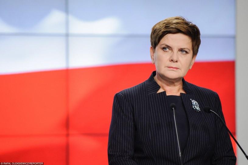 Beata Szydło /Rafal Oleksiewicz/REPORTER /East News
