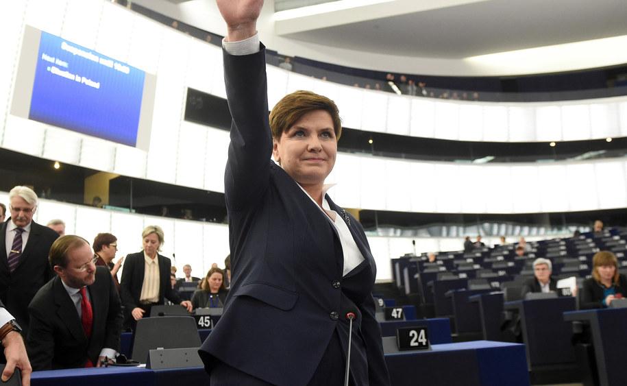 Beata Szydło /Patrick Seeger  /PAP/EPA