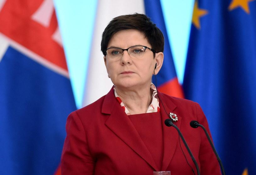 Beata Szydło /Radek Pietruszka /PAP
