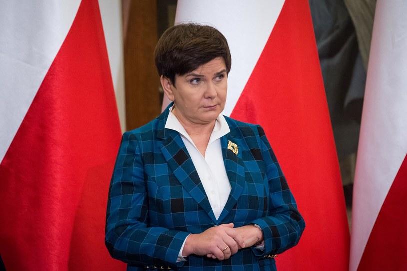Beata Szydło /Fot. Jacek Domiński /Reporter