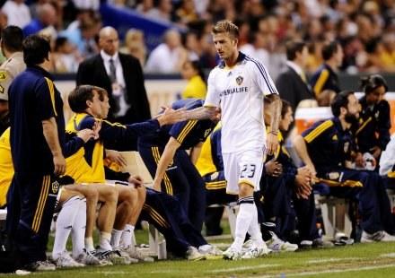 Beckham jest kontuzjowany, ale z Barcą zagra /AFP