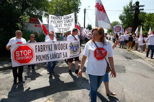 Będą zwolnienia w Polmosie w Łańcucie /fot. Krzysztof Łokaj / Polska Press /Agencja SE/East News