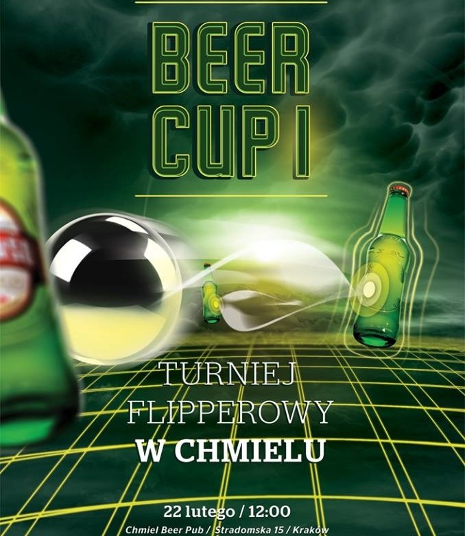 Beer Cup I - plakat promujący turniej /materiały prasowe