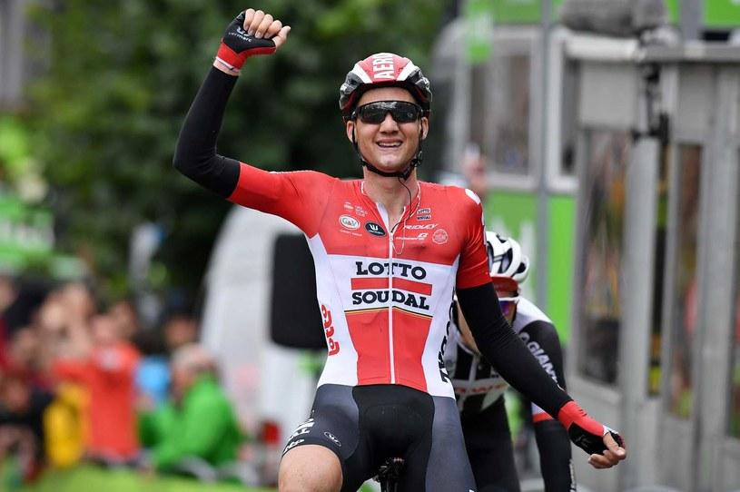 Belg był najszybszy na czwartym etapie /AFP