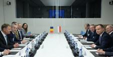 Belgia: Rozmowa Andrzeja Dudy z Donaldem Trumpem
