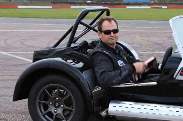 Ben Collins: Jeżdżę samochodami wyścigowymi od osiemnastu lat... /