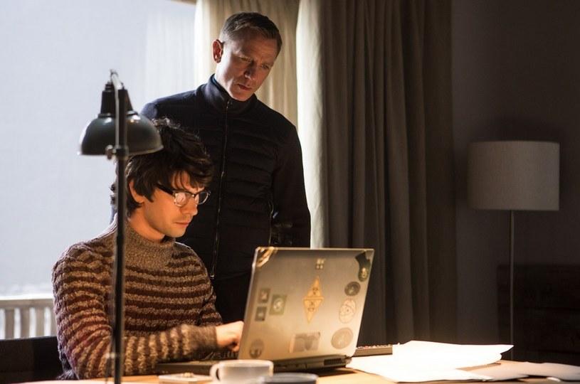 "Ben Whishaw i Daniel Craig w filmie ""Spectre"" /Forum Film /materiały dystrybutora"