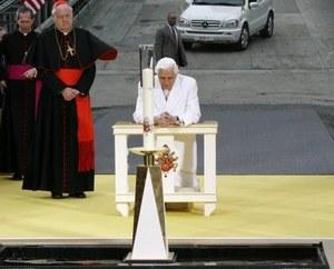 Benedykt XVI w Strefie Zero
