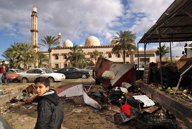 Bengazi po jednym z zamachów; zdj. ilustracyjne /ABDULLAH DOMA/AFP /East News