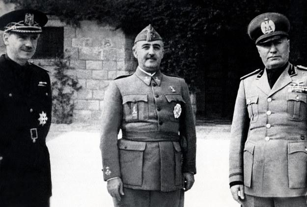 Benito Mussolini /AFP