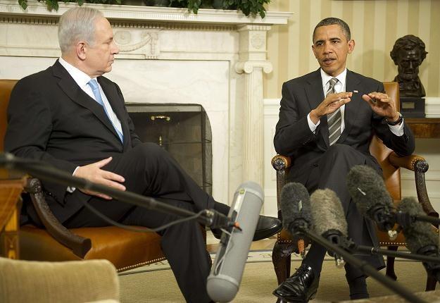 Benjamin Netanjahu i Barack Obama /AFP