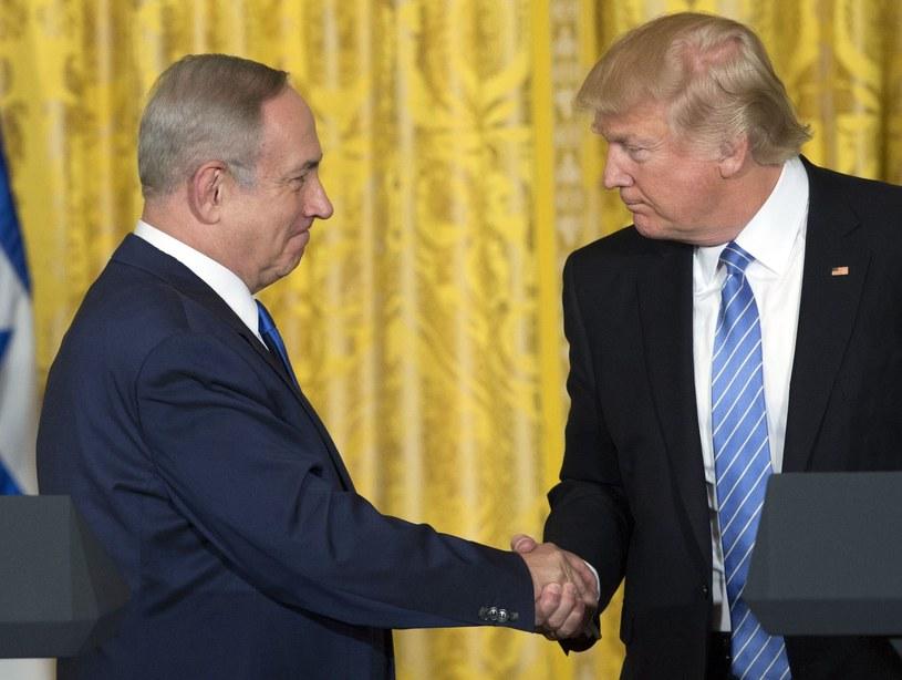 Benjamin Netanjahu i Donald Trump /AFP