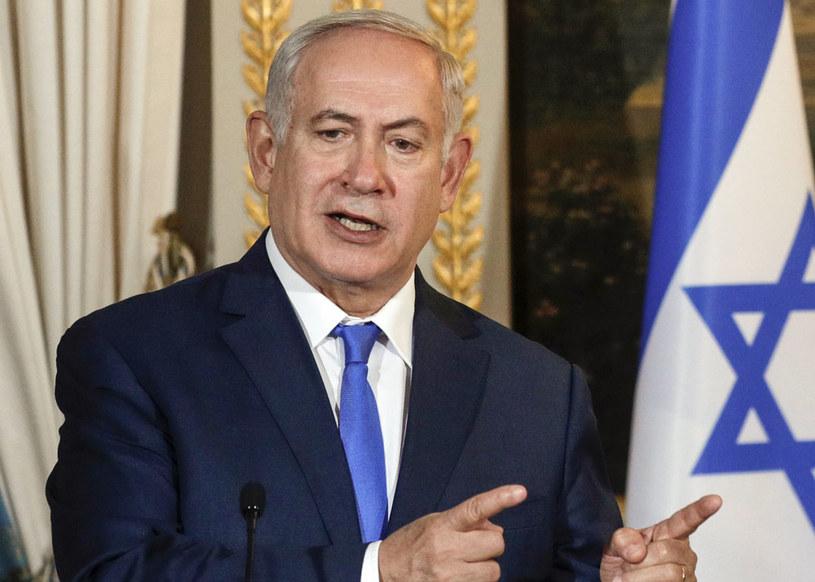 Benjamin Netanjahu: Tysiącletnie związki Żydów z Jerozolimą /PHILIPPE WOJAZER /AFP