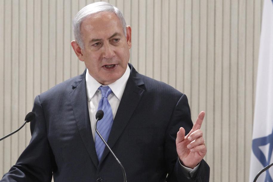 Benjamin Netanjahu /YIANNIS KOURTOGLOU / POOL /PAP/EPA