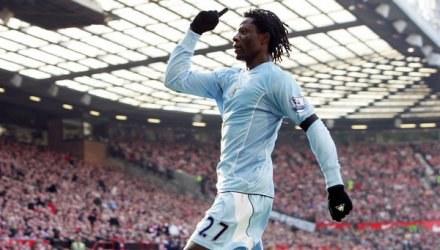 Benjani Mwaruwari trafił na listę transferową. /AFP