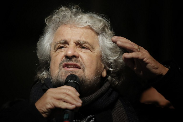 Beppe Grillo /AFP