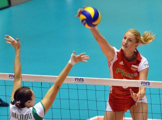 Berenika Okuniewska (z prawej) zdobyła dla Polski 14 punktów. /AFP