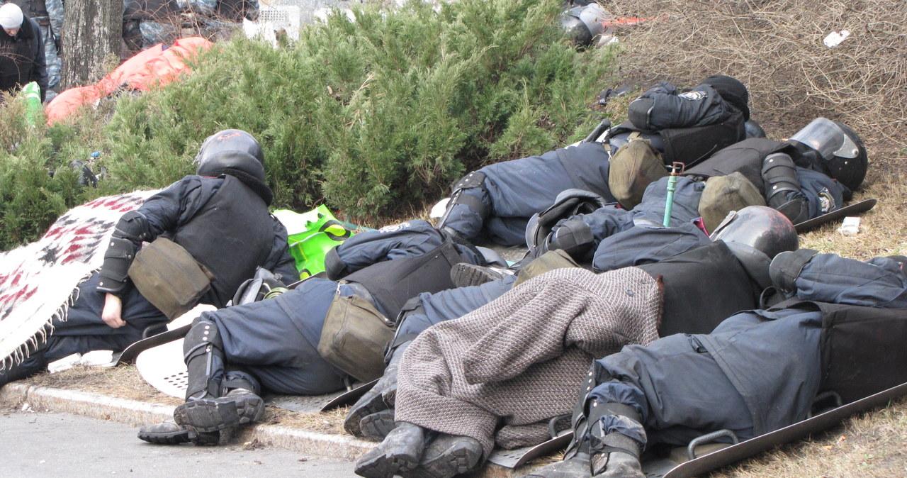 Berkut odciął dostęp do Majdanu