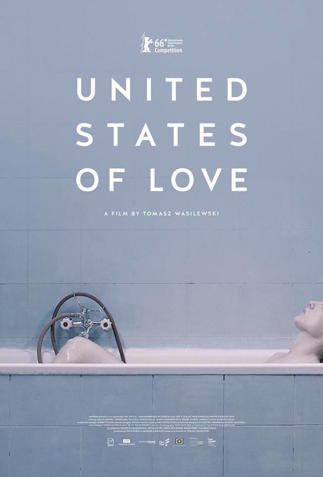 """Berliński plakat """"Zjednoczonych Stanów Miłości"""" /materiały prasowe"""