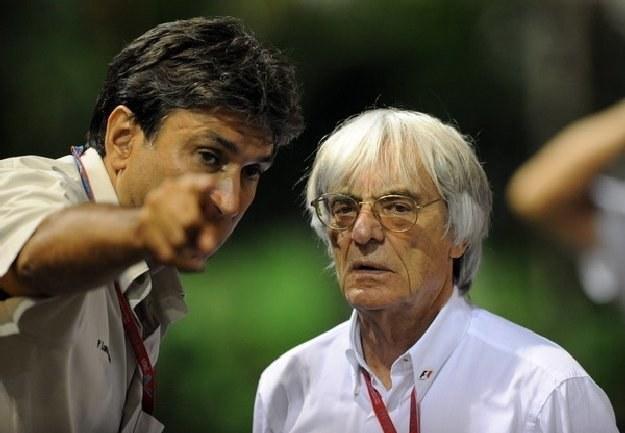 Bernie Ecclestone, właściciel Formuły 1 /AFP