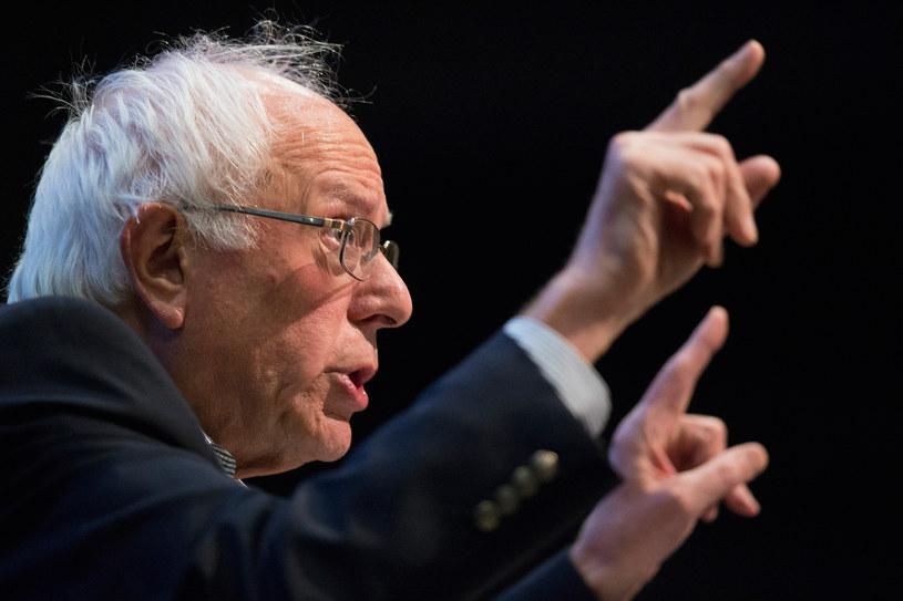 Bernie Sanders nawołuje do politycznej rewolucji /AFP