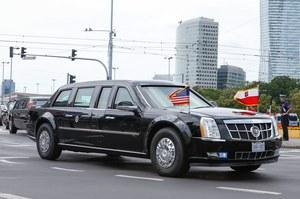 Bestia Trumpa na ulicach Warszawy