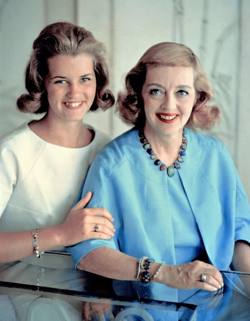 Bette Davis z córką Barbarą /Everett Collection /East News