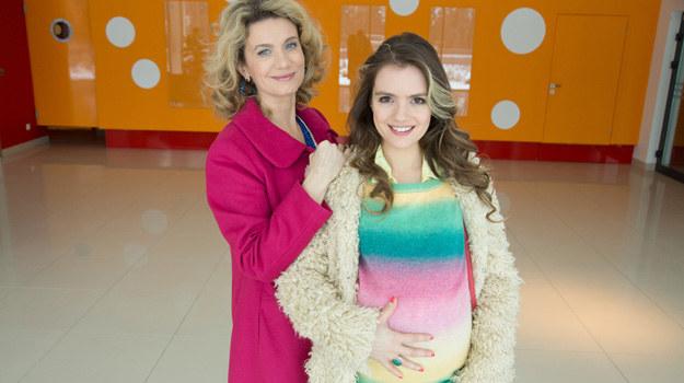Betty (Joanna Trzepiecińska) i Nicole (Maria Niklińska) /Agencja W. Impact