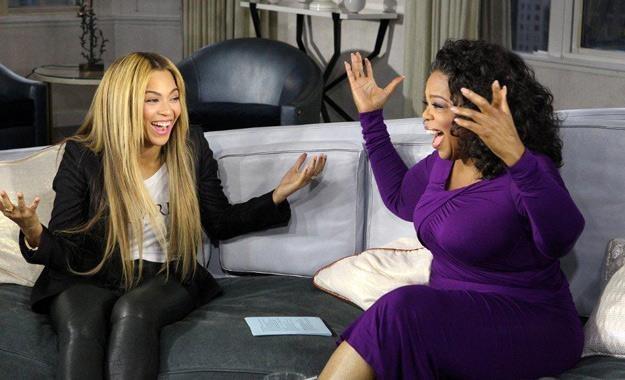 Beyonce i Oprah Winfrey /materiały programowe