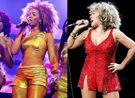 Beyonce i Tina Turner /Getty Images/Flash Press Media