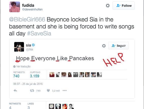 """""""Beyonce zamknęła Się w piwnicy i każe pisać jej przez całe dnie"""" /"""
