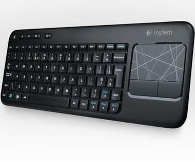 Bezprzewodowa klawiatura i touchpad w jednym