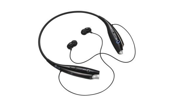 Bezprzewodowy zestaw słuchawkowy LG TONE+ /materiały prasowe