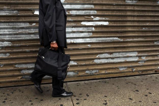Bezrobocie to jedna z głównych przyczyn samobójstw fot. Spencer Platt /AFP
