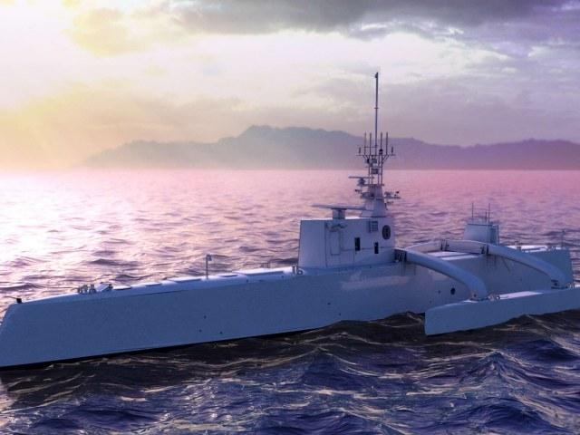 Bezzałogowy okręt ACTUV /DARPA