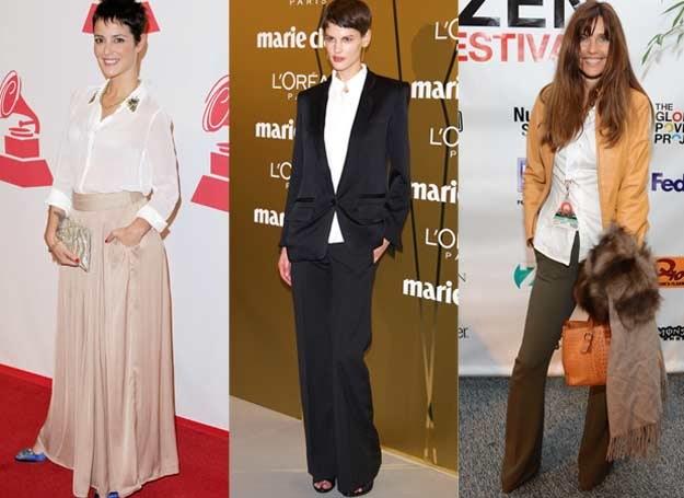 Biała koszula może być podstawą różnorodnych stylizacji /Getty Images/Flash Press Media