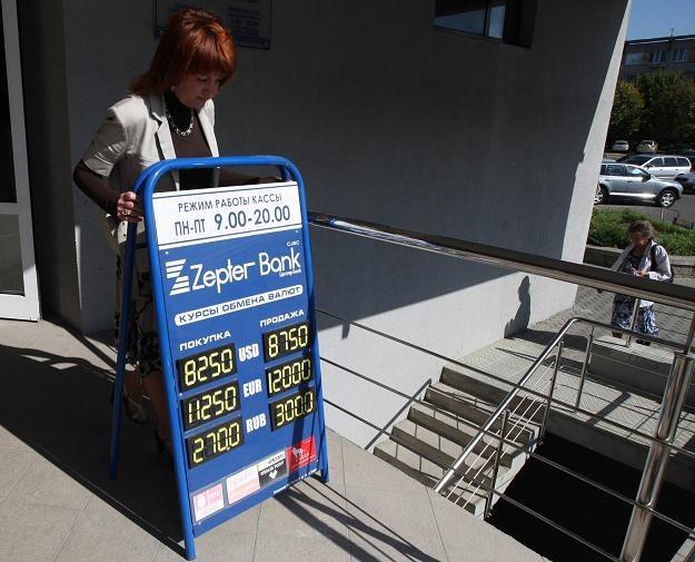 Białoruś ma problemy m.in. z wysoką inflacją /AFP