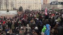 Białorusini oprotestowują tzw. podatek dla darmozjadów