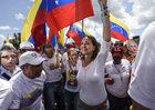 Biały protest kobiet w Wenezueli