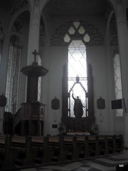 Wnętrze Kościoła św.Rocha