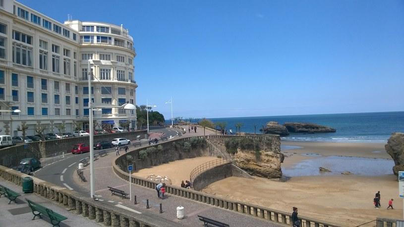 Biarritz leży nad Atlantykiem /Michał Michalak /INTERIA.PL