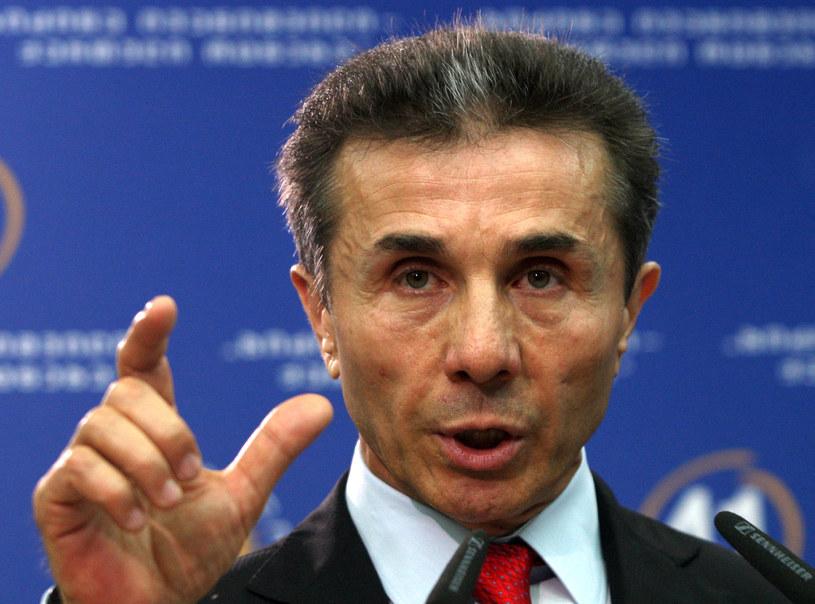Bidzina Iwaniszwili nie ma zbyt dobrej prasy na Zachodzie /AFP