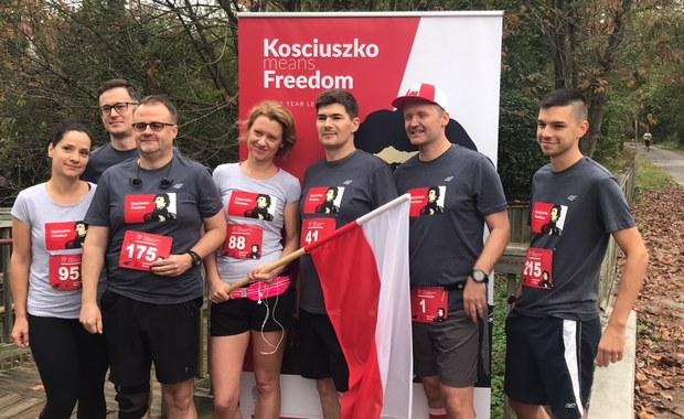 Bieg Kościuszki w Waszyngtonie. Amerykanie i Polonia upamiętniają polskiego generała