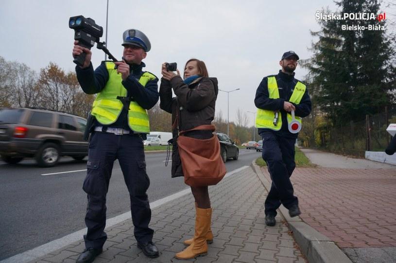 Bielska policja otrzymała nowy miernik prędkości /